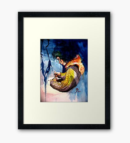 Loraine, Captif Amoureux. (Part 3 of 3) Final Framed Print