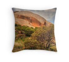 Suicide Rock - Mount Hope, VIctoria Throw Pillow
