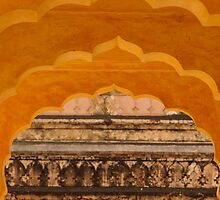 Amber Fort, Jaipur, Rajasthan (detail) by Christopher Cullen