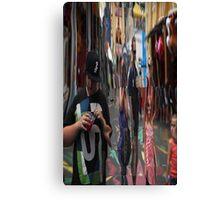 Crazy Mirror Canvas Print