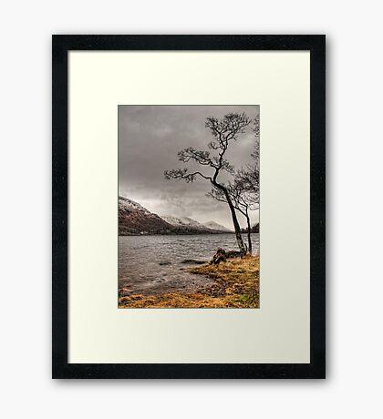 Loch Awe Shores Framed Print