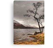 Loch Awe Shores Canvas Print