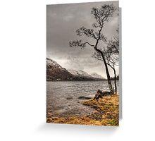 Loch Awe Shores Greeting Card