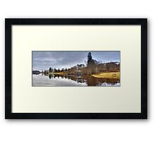 The Boat House, Loch Awe Framed Print