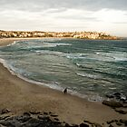 Bondi Beach at Sun Down by Renée Van Kraanen