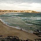 Bondi Beach at Sun Down by Renée Van Kraanen