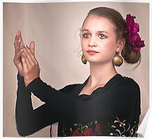 Chica Bailando Poster