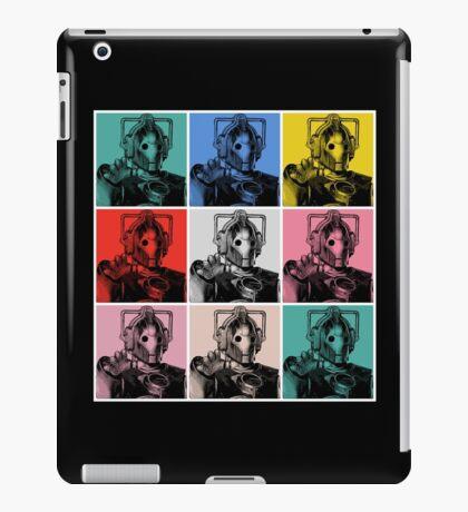 Cybermen Warhol iPad Case/Skin