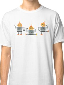 ROBOT x 3 - orange Classic T-Shirt