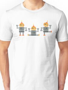 ROBOT x 3 - orange Unisex T-Shirt