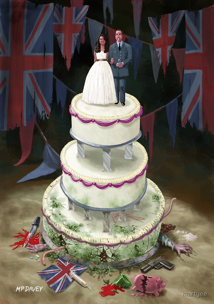 Royal Wedding 2011 cake by martyee