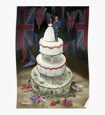 Royal Wedding 2011 cake Poster