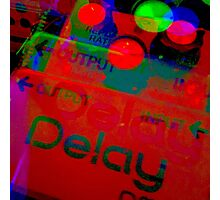 Analog Delay Photographic Print