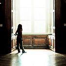 Angelic Light - Louvre, Paris by Amir Youssef