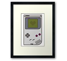Game Boy Lover Framed Print