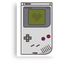 Game Boy Lover Canvas Print