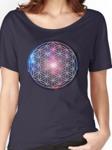 Sacred Geometry: Flower of Life III - Cosmos Women's Relaxed Fit T-Shirt