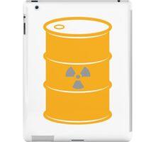 Radioactive Barrel Illustration iPad Case/Skin