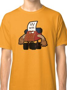 W Is For Whut-Da-Fuh Classic T-Shirt