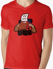 W Is For Whut-Da-Fuh Mens V-Neck T-Shirt