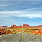 Road to Monument Valley by ten2eight