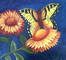 My first butterfly / Mi primera Mariposa by malubalam11