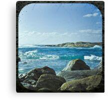 Lights Beach  Canvas Print