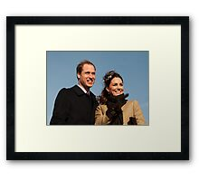 Prince William and Kate Middleton Framed Print