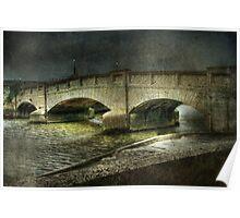 Axmouth Bridge Poster