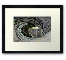 Into The Time Vortex Framed Print
