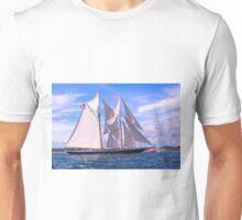 Crossing The Finish Unisex T-Shirt