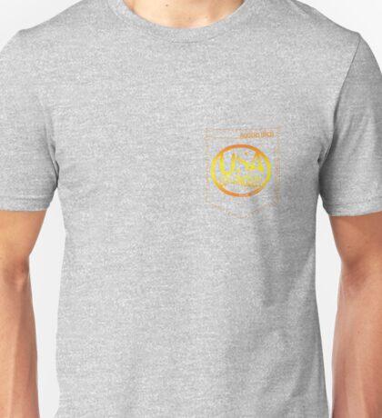 usa california yellow tshirt by rogers bros Unisex T-Shirt