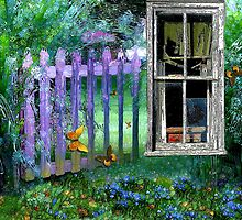 View of the Garden by wiscbackroadz
