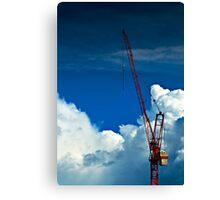 Cloud Construction Canvas Print