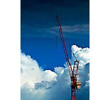 Cloud Construction Photographic Print