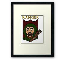 Raeburn the Ranger Framed Print