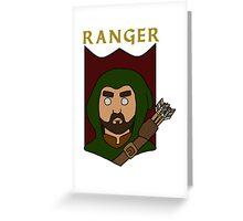Raeburn the Ranger Greeting Card