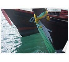 Phuket Boats Poster