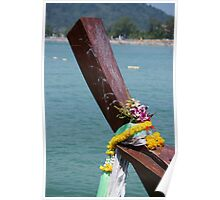 Phuket Boat Poster