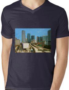 Miami, Florida Mens V-Neck T-Shirt