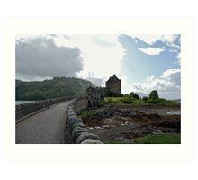 Eilean Donan Castle Entrance Art Print