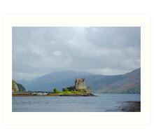 Eilean Donan Castle At a Distance Art Print