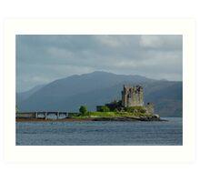 Eilean Donan Castle At a Distance 2 Art Print