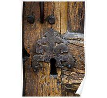 Old church lock Poster