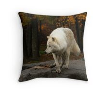 The lone leader Throw Pillow