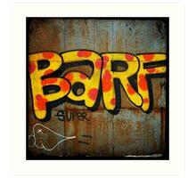 BARF Art Print