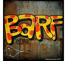 BARF Photographic Print