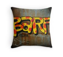 BARF Throw Pillow