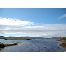 Dunvegan Castle Scenic View Photographic Print