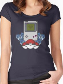 Game Boy Love Women's Fitted Scoop T-Shirt